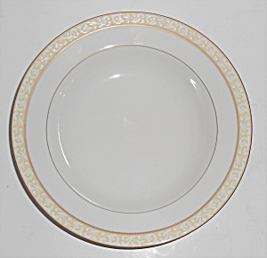 Mikasa Fine China Porcelain Radcliffe Gold Soup Bowl