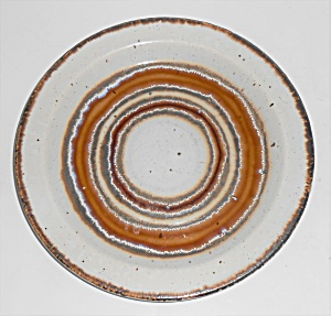 Midwinter Pottery Stonehenge Earth Bread Plate
