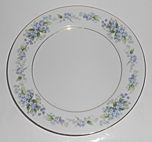 Noritake Porcelain China Ramona W/gold Dinner Plate