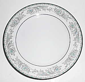 Noritake Porcelain China Belmont Platinum Band Salad Pl