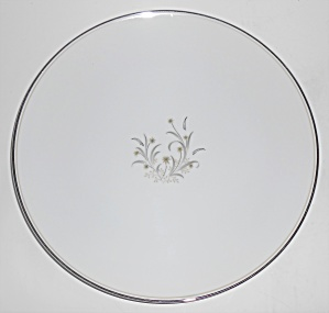 Noritake Porcelain China 5772 Ardis Platinum Dinner Pl