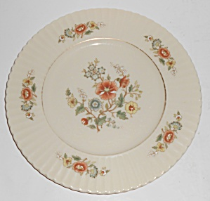Lenox China Temple Blossom Gold Band Salad Plate