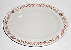 Grindley & Co Restaurant Ware China Red/yellow Platter