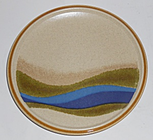 Mikasa China Stylecraft Blue River Salad Plate