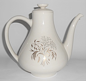 Franciscan Pottery Fine China Winter Bouquet Coffee Pot