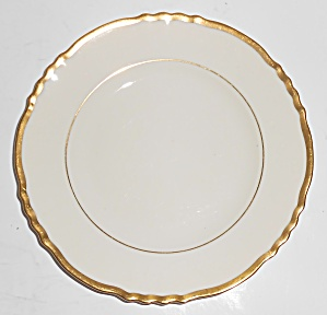 Syracuse China Old Ivory Gold Fluted Bread Plate