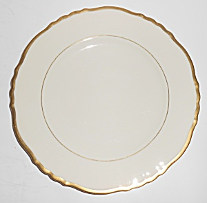 Syracuse China Old Ivory Gold Fluted Salad Plate