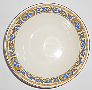 J. G. Meakin China Academy Cobalt W/gold Cereal Bowl