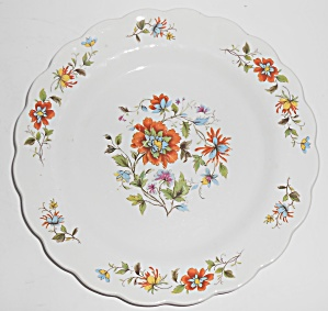 Ridgway Ironstone China Mandalay Floral Dinner Plate