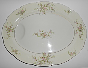 Theodore Haviland China Rosaline Floral 16in Platter