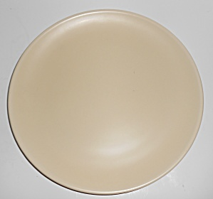 Catalina Island Pottery Matte Ivory Dinner Plate