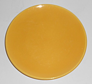 Catalina Island Pottery Chinese Yellow Coupe Plate