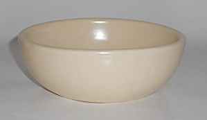 Catalina Island Pottery Ivory Cereal Bowl
