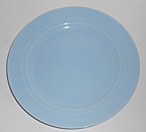 Franciscan Pottery Montecito Gloss Light Blue Lunch Pla