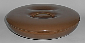 Russel Wright Pottery Iroquois Casual Nutmeg 10in Cov