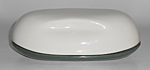 Russel Wright Pottery Iroquois Casual Parsley/white Cov