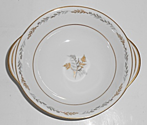Noritake Fine China Porcelain Ferncliff Floral W/gold T