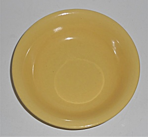 Metlox Pottery Poppy Trail Series 200 Gl Yellow Fruit