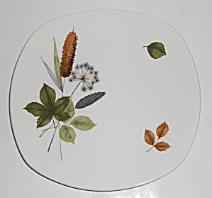 Midwinter Pottery Cattails Riverside Salad Plate