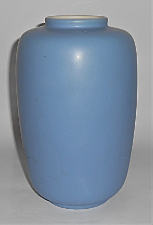 Coors Art Pottery Blue/white Pinecone Decorated Minturn