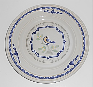Franciscan Pottery Stoneware Love Birds Salad Plate