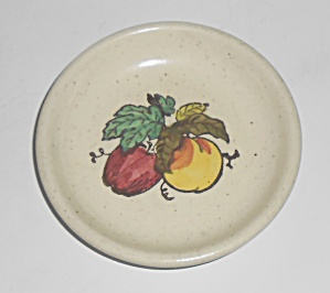 Metlox Poppy Trail Pottery Provincial Fruit Coaster
