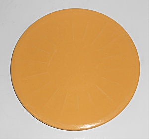 Garden City Pottery Yellow 7-1/4'' Plate