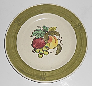 Metlox Poppy Trail Pottery Provincial Fruit Salad Plate