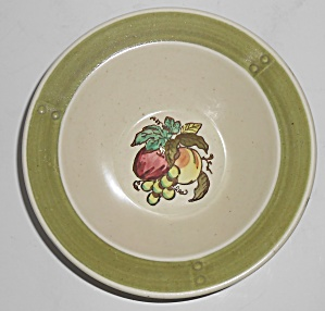 Metlox Poppy Trail Pottery Provincial Fruit Cereal Bowl