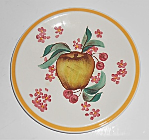 Vernon Kilns Pottery Gale Turnbull Harvest Bread Plate
