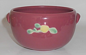 Coors Pottery Rosebud Red Small Pudding Bowl