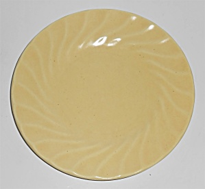 Metlox Pottery Poppy Trail Yorkshire Yellow Bread Plate