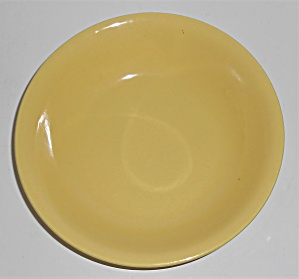 Metlox Pottery Poppy Trail Series 200 Gl Yellow Cereal