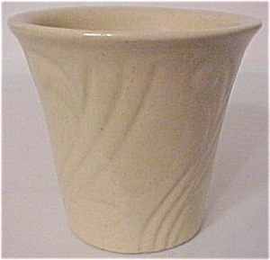 "Pacific Pottery Art Deco 3.5"" Yellow Flowerpot"