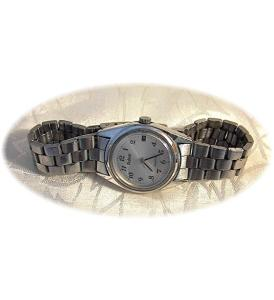 Stainless Steel Pulsar Wrist Watch