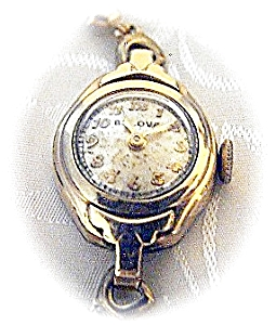 Older Ladies Bulova /20 Gf Wristwatch