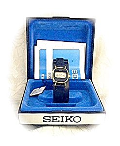 Ladies Vintage Seiko Wristwatch Orig Box