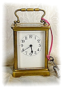 Brass French French Carriage Clock