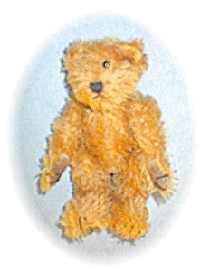 1997 100% Mohair 6 Inch Tiny Teddy