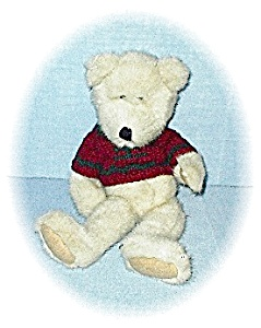 Boyds Sweater Clad Pellet Filled Teddy Bear