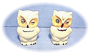 Shawnee Owls Salt & Pepper Shakers