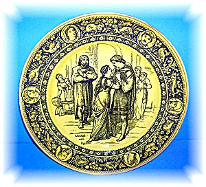 Beautiful Collectible Wedgewood Ivanhoe & Rowena Plate