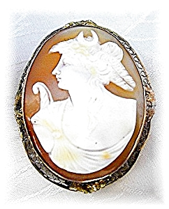Beautiful Antique Handcarved Cameo