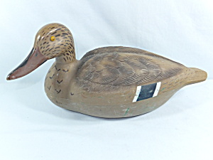 Vintage Quackers Duck Decoy - Hen