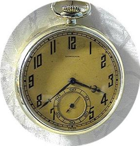 Longines 14k Gold Fill Gentlemans Pocket Watch