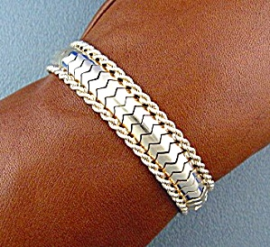 Bracelet 18k Yellow Gold Rope Flex