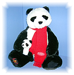 22 Inch Mother And Baby Gund Pandas..........
