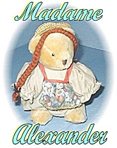 Madame Alexander Anne At The Station Bear