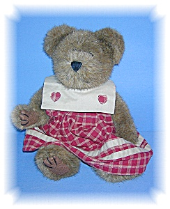 12 Inch Boyds Lady Teddy Bear.