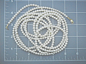 14k Gold And Freshwater Pearls 78 Inch